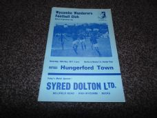 Wycombe Wanderers v Hungerford Town, 1977/78 [BBSC]